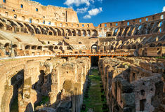 Arena Colosseum (Coliseum) in Rome, Italy Royalty Free Stock Photography