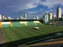Arena Conda stadium Chapecoese Club stadium. Chapecó-Brazil, - Aerial view of Arena Conda stadium, Chapecoese Club stadium stock images