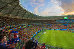 Arena da Amazônia is filled to capacity for the US vs Portugal Match Stock Images