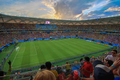 Arena da Amazônia is filled to capacity for the US vs Portugal Match Royalty Free Stock Photography