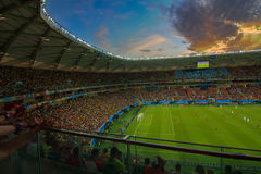 Arena da Amazônia is filled to capacity for the US vs Portugal Match Stock Photography