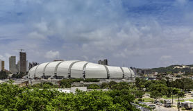 Arena das Dunas soccer stadium in Natal, Brazil. Arena das Dunas soccer stadium in the city of Natal which is the capital of Rio Grande do Norte Brazilian state Stock Photo