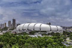 Arena das Dunas soccer stadium in Natal, Brazil Stock Photos