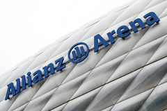 Arena de Allianz Imagem de Stock Royalty Free