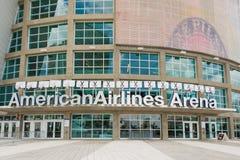 A arena de American Airlines, casa do calor de Miami Imagem de Stock
