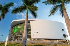 Arena de American Airlines em Miami Imagem de Stock