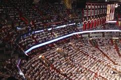 Arena de American airlines, hogar de los Miami Heat Fotografía de archivo