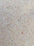 Arena de Brown en la playa Fotografía de archivo libre de regalías