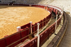 Arena de Bull Imagem de Stock Royalty Free