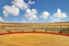 Arena de Bull em Sevilha Imagens de Stock