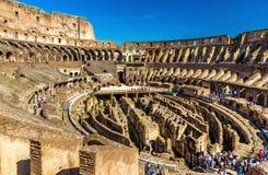 Arena de Colosseum ou de Flavian Amphitheatre em Roma imagens de stock