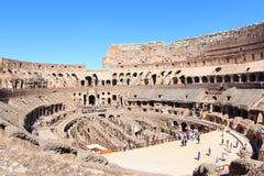 A arena de Colosseum, Roma Imagem de Stock Royalty Free