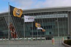 Arena de Donbass del estadio Foto de archivo libre de regalías