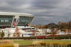 Arena de Donbass del estadio Imagen de archivo libre de regalías
