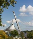 A arena de esporte de Munich, ¼ de Olympiapark MÃ nchen imagem de stock royalty free
