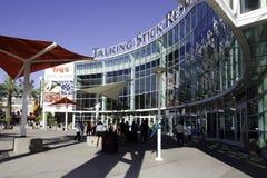 Arena de fala do recurso da vara em Phoenix o Arizona Fotos de Stock