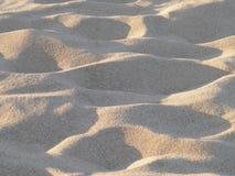 Arena de la playa como fondo Imagen de archivo