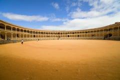 Arena de la tauromaquia en Ronda Imagenes de archivo