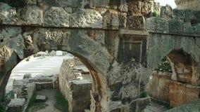 Arena de las pulas, anfiteatro romano en las pulas, Croacia metrajes