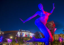 Arena de Las Vegas T-Mobile Fotos de Stock
