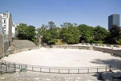 Arena de Lutetia (París Francia) Foto de archivo libre de regalías