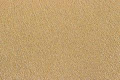 Arena de mar de oro Textura de la arena Playa de Sandy para el fondo Visión superior foto de archivo