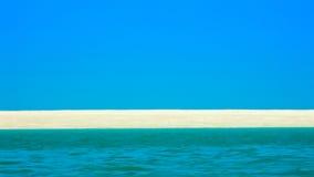 Arena de mar y cielo Willie Creek Western Australia Imágenes de archivo libres de regalías