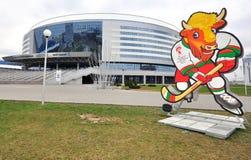Arena de Minsk, Bielorrússia imagem de stock royalty free