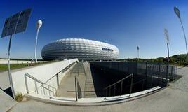 Arena de Munich Allianz - uma vista do sul. Fotos de Stock