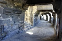 Arena de Nîmes immagine stock libera da diritti