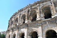 Arena de Nimes Foto de archivo libre de regalías