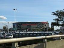 Arena de Oracle em Oakland, Califórnia imagens de stock