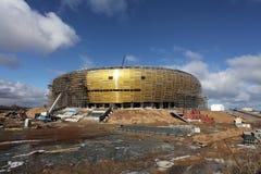 Arena de PGE, estadio en Gdansk, Polonia Foto de archivo libre de regalías