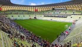 Arena de PGE, estadio en Gdansk, Polonia Foto de archivo