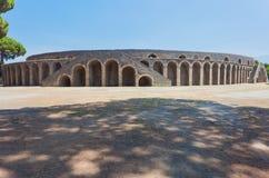 Arena de Pompeia Fotos de Stock