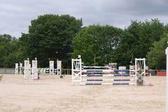 Arena de salto del caballo en Le Pompidou Francia Fotografía de archivo libre de regalías
