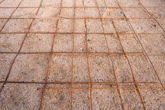 Arena de tierra de la malla de alambre fotografía de archivo