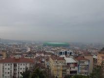 Arena de Timsah da arena do clube desportivo de Bursaspor imagem de stock