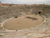 Arena de Verona, Roman Amphitheatre bem preservado em Verona imagens de stock