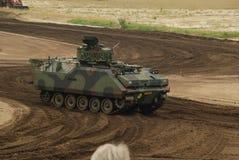 Arena del carro armato, mostrante i carri armati da presto fino ad ora Immagini Stock