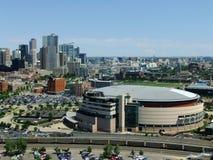 Arena del centro di Pepsi a Denver, Colorado immagine stock