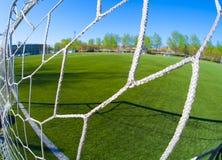 Arena del fútbol Imágenes de archivo libres de regalías