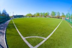 Arena del fútbol Fotografía de archivo