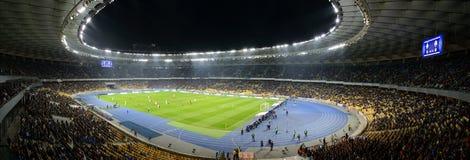 Arena del fútbol de Kiev, panorama Foto de archivo libre de regalías