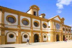 Arena del funcionamiento del ` s de Jerez foto de archivo