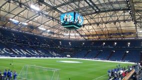 Arena del pic piacevole dell'interno di Schalke immagine stock libera da diritti