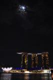 Arena del puerto deportivo, Singapur Imágenes de archivo libres de regalías
