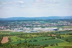 Arena del Reno-Neckar e Badewelt Sinsheim, Kraichgau fotografie stock libere da diritti
