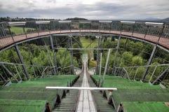 Arena del salto de esquí Foto de archivo