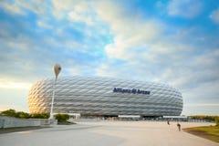 Arena dell'Allianz a Monaco di Baviera Fotografie Stock